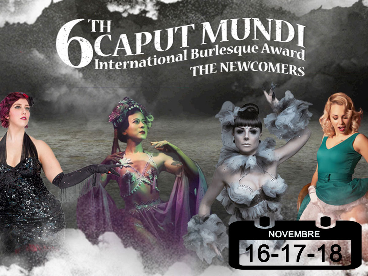 International Burlesque Award • Caput Mundi